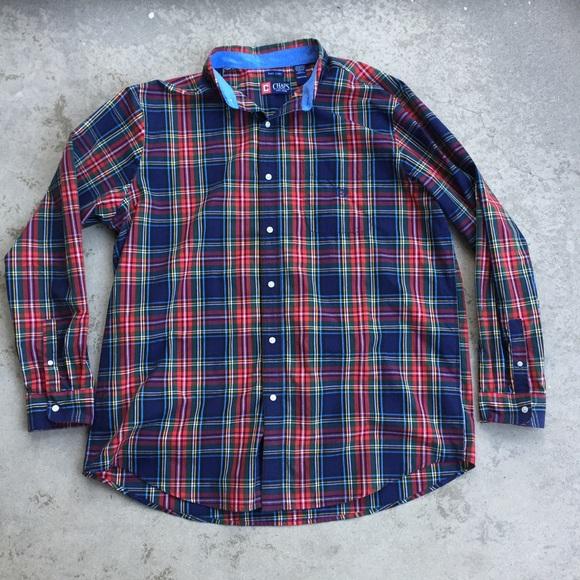 Chaps Other - Chaps Men's Tartan Big Shirt
